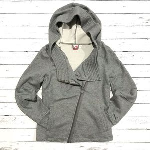 Puma Asymmetrical Zip Moto Hoodie Sweater Jacket